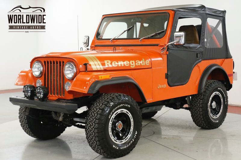 1979 Jeep CJ5 RESTORED 4x4 RENEGADE LIFT MUST SEE PS | Denver, CO | Worldwide Vintage Autos