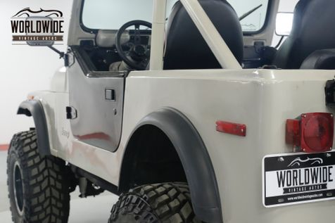 1979 Jeep CJ 7 304 V8 4x4 PS PB BRAND NEW WHEELS / TIRES | Denver, CO | Worldwide Vintage Autos in Denver, CO