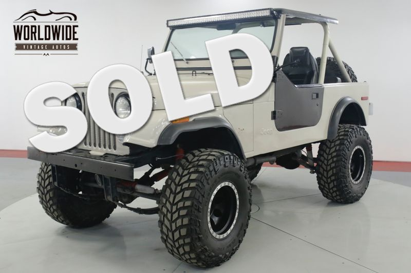 1979 Jeep CJ 7 304 V8 4x4 PS PB BRAND NEW WHEELS / TIRES | Denver, CO | Worldwide Vintage Autos