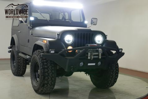 1979 Jeep CJ 7  FUEL INJECTED 258 REMOVABLE TOP AC  | Denver, CO | Worldwide Vintage Autos in Denver, CO
