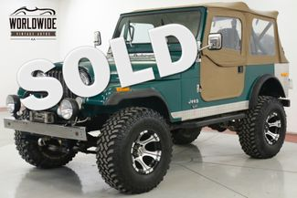 1979 Jeep CJ7  PROFESSIONALLY RESTORED 401 WINCH LIFT DISC | Denver, CO | Worldwide Vintage Autos in Denver CO