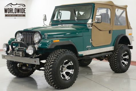 1979 Jeep CJ7  PROFESSIONALLY RESTORED 401 WINCH LIFT DISC | Denver, CO | Worldwide Vintage Autos in Denver, CO
