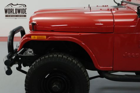 1979 Jeep CJ5 Rebuilt T-18. New Clutch. V8 | Denver, CO | Worldwide Vintage Autos in Denver, CO