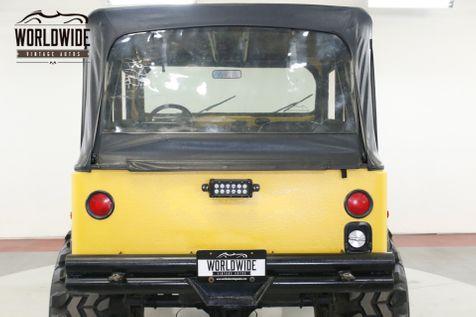 1979 Jeep CJ5 SUPERCHARGED 383 V8 525 HP 4X4 DISC PS PB   Denver, CO   Worldwide Vintage Autos in Denver, CO