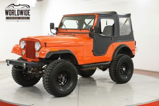 1979 Jeep CJ5 4x4 PB PS DISC BRAKES LIFTED CONVERTIBLE CJ5 CJ7 | Denver, CO | Worldwide Vintage Autos in Denver CO