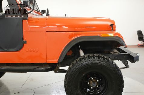 1979 Jeep CJ5 4x4 PB PS DISC BRAKES LIFTED CONVERTIBLE CJ5 CJ7 | Denver, CO | Worldwide Vintage Autos in Denver, CO