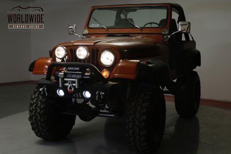 1979 Jeep CJ7 HIGH DOLLAR CUSTOM WARN WINCH LIFT    Denver, CO   Worldwide Vintage Autos in Denver, CO