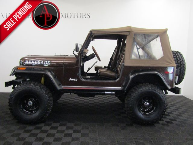 1979 Jeep CJ7 FUEL INJECTED V8