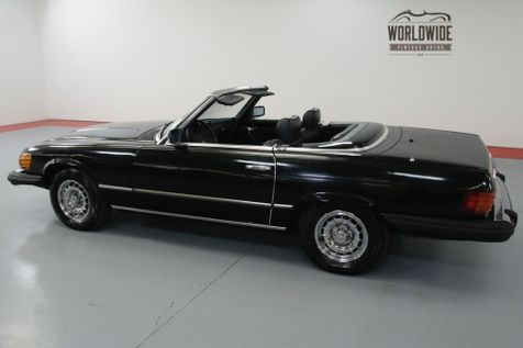 1979 Mercedes Benz 450SL TRIPLE BLACK! EXTREMELY LOW MILES. TWO TOPS.   Denver, CO   Worldwide Vintage Autos in Denver, CO