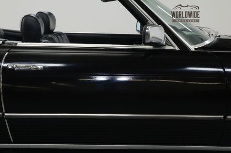 1979 Mercedes Benz 450SL TRIPLE BLACK! EXTREMELY LOW MILES. TWO TOPS. | Denver, CO | Worldwide Vintage Autos in Denver, CO
