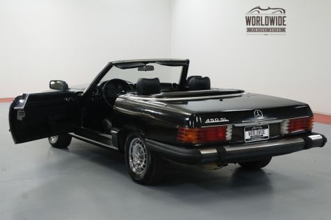1979 Mercedes-Benz 450SL TRIPLE BLACK! EXTREMELY LOW MILES. TWO TOPS. | Denver, CO | Worldwide Vintage Autos in Denver, CO