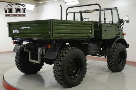 1979 Mercedes-Benz UNIMOG 406 DIESEL PORTAL AXLES WINCH UNSTOPPABLE  | Denver, CO | Worldwide Vintage Autos in Denver, CO