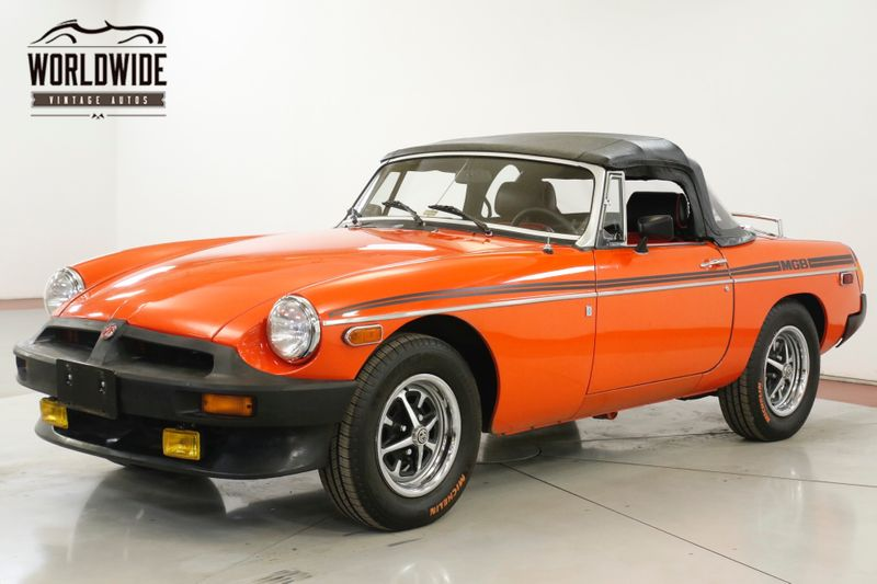 1979 Mg MGB UPDATED INTERIOR CONVERTIBLE PS PB | Denver, CO | Worldwide Vintage Autos