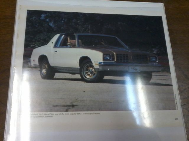 1979 Oldsmobile Cutlass  W-30 Hurst Performance Package San Antonio, Texas 40