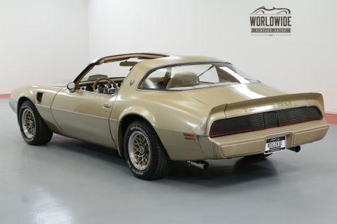 1979 Pontiac FIREBIRD TIME CAPSULE. 6.6 V8 T-TOP AC BUILD SHEET | Denver, CO | Worldwide Vintage Autos in Denver, CO