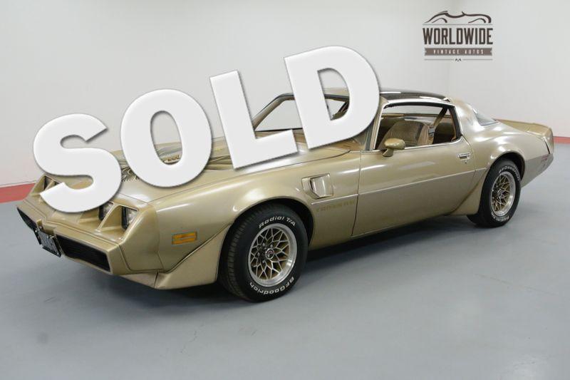 1979 Pontiac FIREBIRD TIME CAPSULE. 6.6 V8 T-TOP AC BUILD SHEET | Denver, CO | Worldwide Vintage Autos