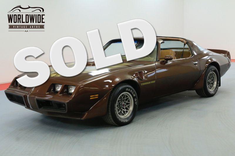 1979 Pontiac TRANS AM RESTORED! WS6 400 V8 - 4 SPEED! RARE!   Denver, CO   Worldwide Vintage Autos
