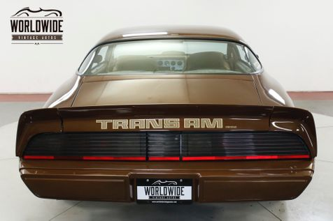 1979 Pontiac TRANS AM NUMBERS MATCHING 6.6L AUTO AC RARE COLLECTOR  | Denver, CO | Worldwide Vintage Autos in Denver, CO