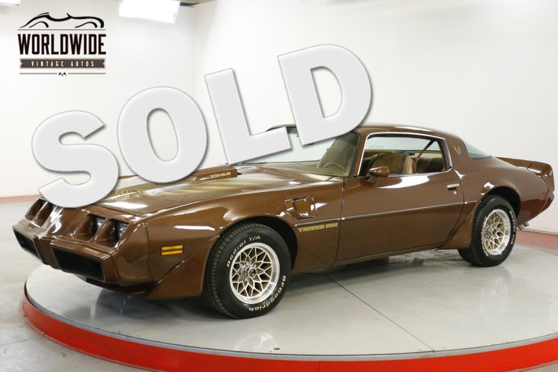 1979 Pontiac TRANS AM NUMBERS MATCHING 6.6L AUTO AC RARE COLLECTOR  | Denver, CO | Worldwide Vintage Autos