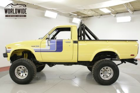 1979 Toyota HILUX SR5 CA TRUCK 4x4 20R LOW MILES BABIED | Denver, CO | Worldwide Vintage Autos in Denver, CO