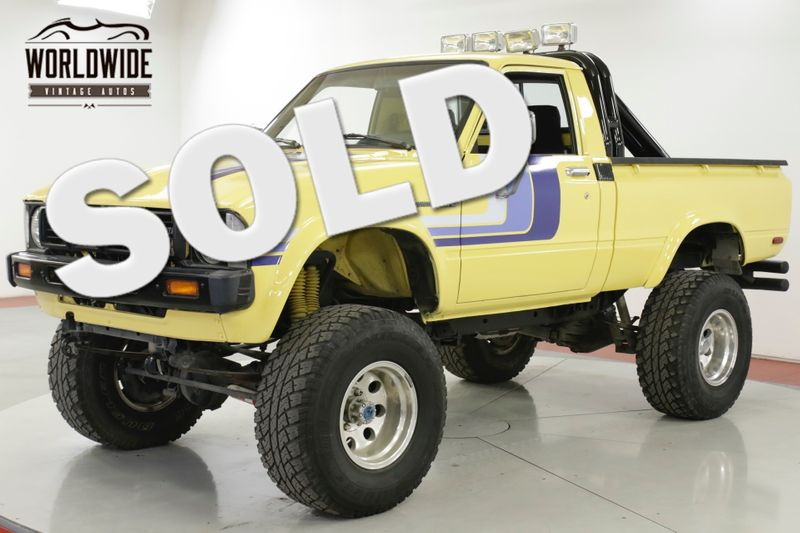 1979 Toyota HILUX SR5 CA TRUCK 4x4 20R LOW MILES BABIED | Denver, CO | Worldwide Vintage Autos
