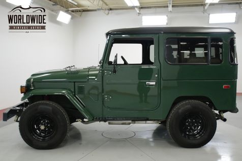 1979 Toyota LAND CRUISER FJ40 V8 350 5 SPEED RESTORED | Denver, CO | Worldwide Vintage Autos in Denver, CO