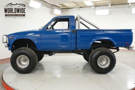 1979 Toyota TRUCK HILUX LIFT STRAIGHT AXLE 4X4 TX TRUCK | Denver, CO | Worldwide Vintage Autos in Denver, CO