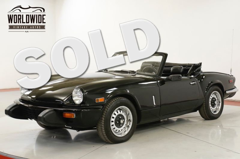 1979 Triumph SPITFIRE NEW TOP NEW BRAKES CONVERTIBLE | Denver, CO | Worldwide Vintage Autos