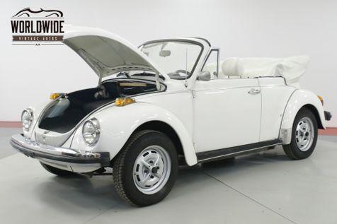 1979 Volkswagen BEETLE  BUG CONVERTIBLE 71K MILE KARMANN EDITION   Denver, CO   Worldwide Vintage Autos in Denver, CO