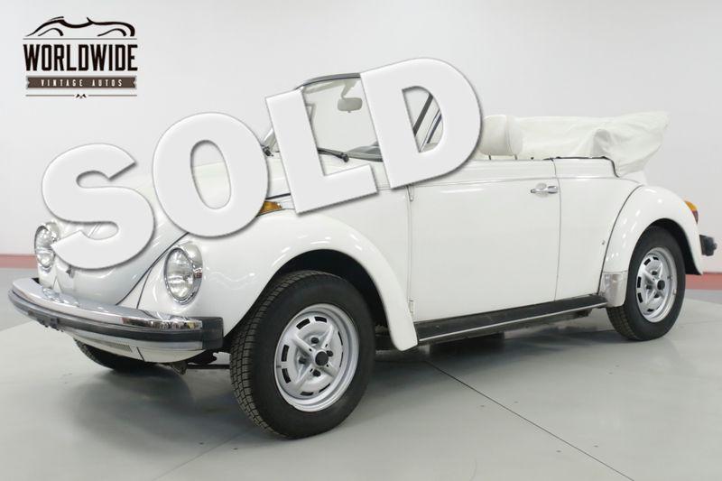 1979 Volkswagen BEETLE  BUG CONVERTIBLE 71K MILE KARMANN EDITION   Denver, CO   Worldwide Vintage Autos