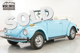 1979 Volkswagen BEETLE SUPER BEETLE BUG CONVERTIBLE 2 OWNER CA CAR  | Denver, CO | Worldwide Vintage Autos in Denver CO