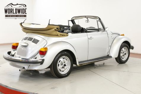 1979 Volkswagen BEETLE CONVERTIBLE RARE COLLECTOR SUMMER READY | Denver, CO | Worldwide Vintage Autos in Denver, CO