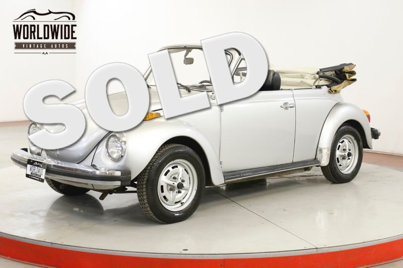 1979 Volkswagen BEETLE CONVERTIBLE RARE COLLECTOR SUMMER READY | Denver, CO | Worldwide Vintage Autos