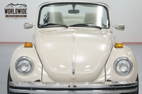 1976 Volkswagon BEETLE CONVERTIBLE PRISTINE! | Denver, CO | Worldwide Vintage Autos in Denver, CO