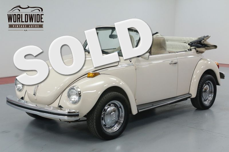1976 Volkswagen BEETLE CONVERTIBLE PRISTINE! | Denver, CO | Worldwide Vintage Autos