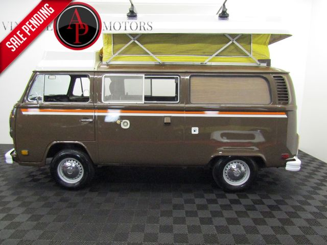1979 Volkwagen BAY WINDOW BUS RIVIERA CAMPER