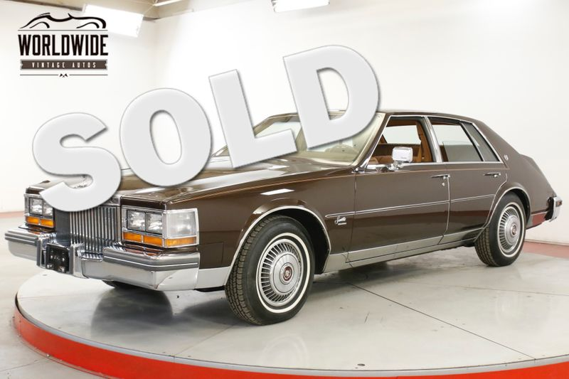 1980 Cadillac SEVILLE 18K ORIGINAL MI RARE DIESEL AZ CAR COLLECTOR | Denver, CO | Worldwide Vintage Autos