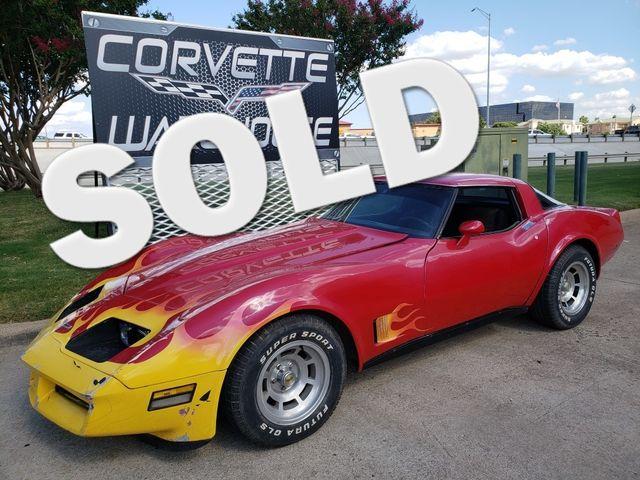 1980 Chevrolet Corvette Coupe Auto, T-Tops, Pioneer CD, HandyMan Special! | Dallas, Texas | Corvette Warehouse  in Dallas Texas