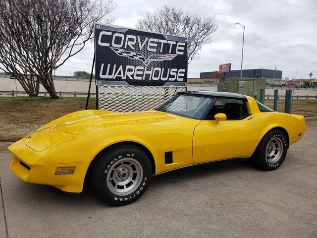 1980 Chevrolet Corvette Coupe Automatic, Glass Tops, Alloy Wheels 87k