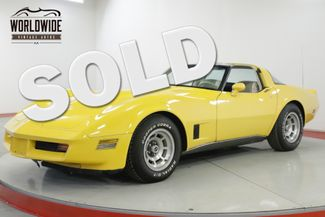 1980 Chevrolet CORVETTE   V8 AUTOMATIC LOW MILEAGE | Denver, CO | Worldwide Vintage Autos in Denver CO