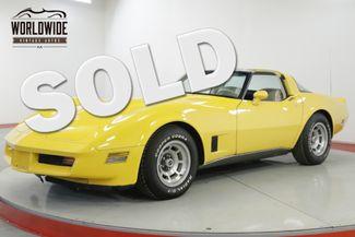 1980 Chevrolet CORVETTE   V8 AUTOMATIC LOW MILEAGE   Denver, CO   Worldwide Vintage Autos in Denver CO