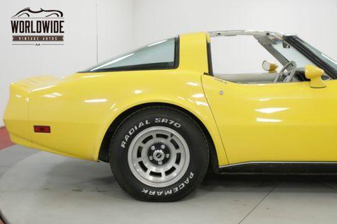 1980 Chevrolet CORVETTE   V8 AUTOMATIC LOW MILEAGE | Denver, CO | Worldwide Vintage Autos in Denver, CO