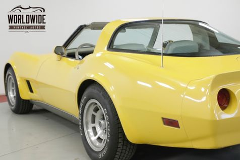 1980 Chevrolet CORVETTE   V8 AUTOMATIC LOW MILEAGE | Denver, CO | Worldwide Vintage Autos in Denver, CO