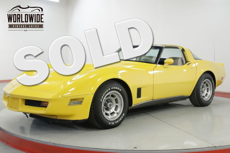 1980 Chevrolet CORVETTE   V8 AUTOMATIC LOW MILEAGE | Denver, CO | Worldwide Vintage Autos