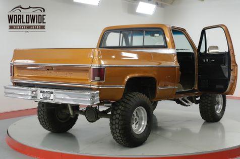 1980 Chevrolet SILVERADO K10. SHORT BED. FRESHLY REBUILT MOTOR. 4x4!  | Denver, CO | Worldwide Vintage Autos in Denver, CO