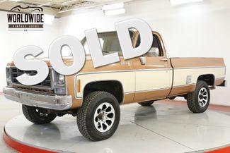1980 Chevrolet SCOTTSDALE 350 V8 AUTO AC PS PB 4X4  | Denver, CO | Worldwide Vintage Autos in Denver CO