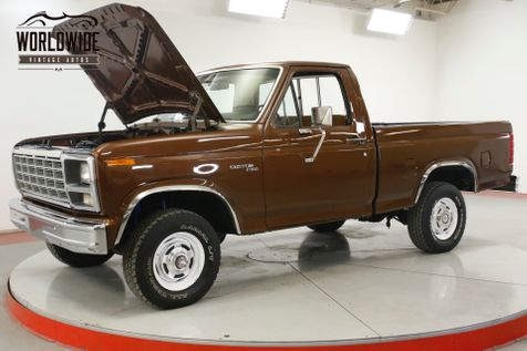 1980 Ford F150 SHORT BED V8 4X4 PS PB RESTORED STOCK BEAUTY | Denver, CO | Worldwide Vintage Autos in Denver, CO