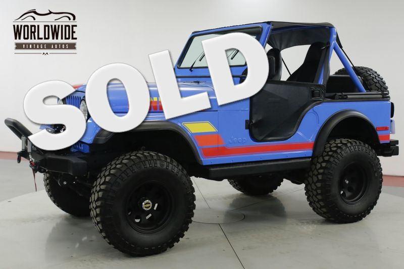 1980 Jeep CJ5  RENEGADE EXTENSIVE RESTORATION 4x4 V8 | Denver, CO | Worldwide Vintage Autos