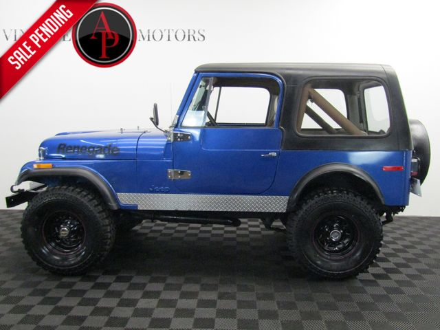 1980 Jeep CJ7 V8 4X4 PS PB
