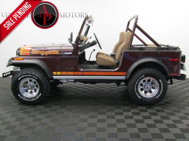 1980 Jeep CJ7 RENEGADE PS 4X4 V8